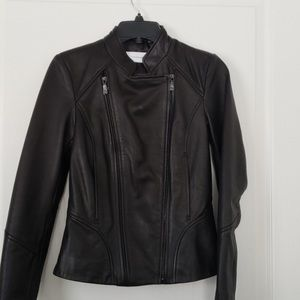 NWT Buttery soft Tahari leather jacket